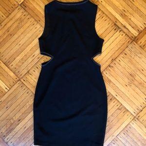 Zara Dresses - Zara Black Cut-Out Dress